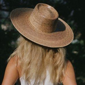 Lack of Color Palma Wide Boater Palm Leaf Sun Hat